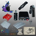 New Arrival 1 set Tattoo Kit Power Supply Gun Complete Set Equipment Machine Wholesale 1102104kitA