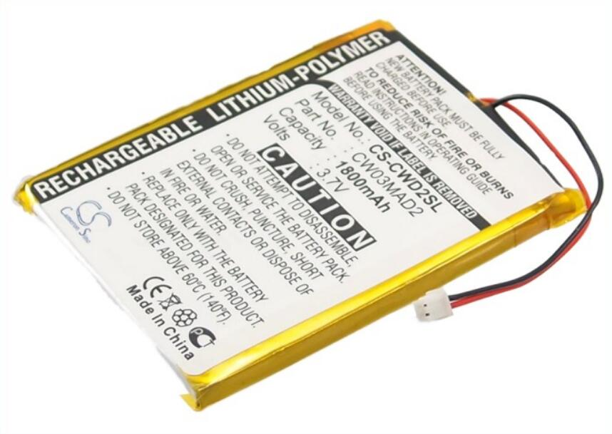 Cameron Sino 1800 mah bateria para COWON D2 2 gb D2 4 gb D2 8 gb D2 Plus 16 gb baterias