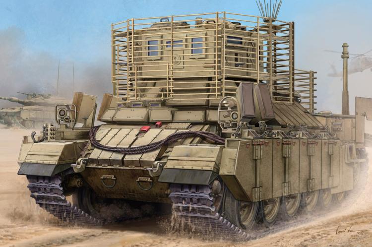 HobbyBoss 1 35 83870 IDF APC Nagmachon Doghouse II Model Kit