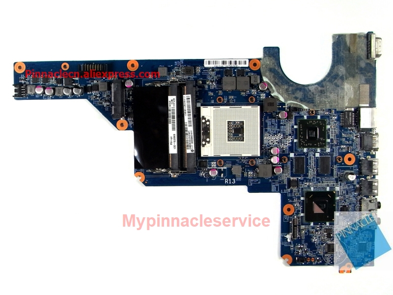 636375-001 Motherboard for HP Pavilion G4 G6 G7 DA0R13MB6E0 image