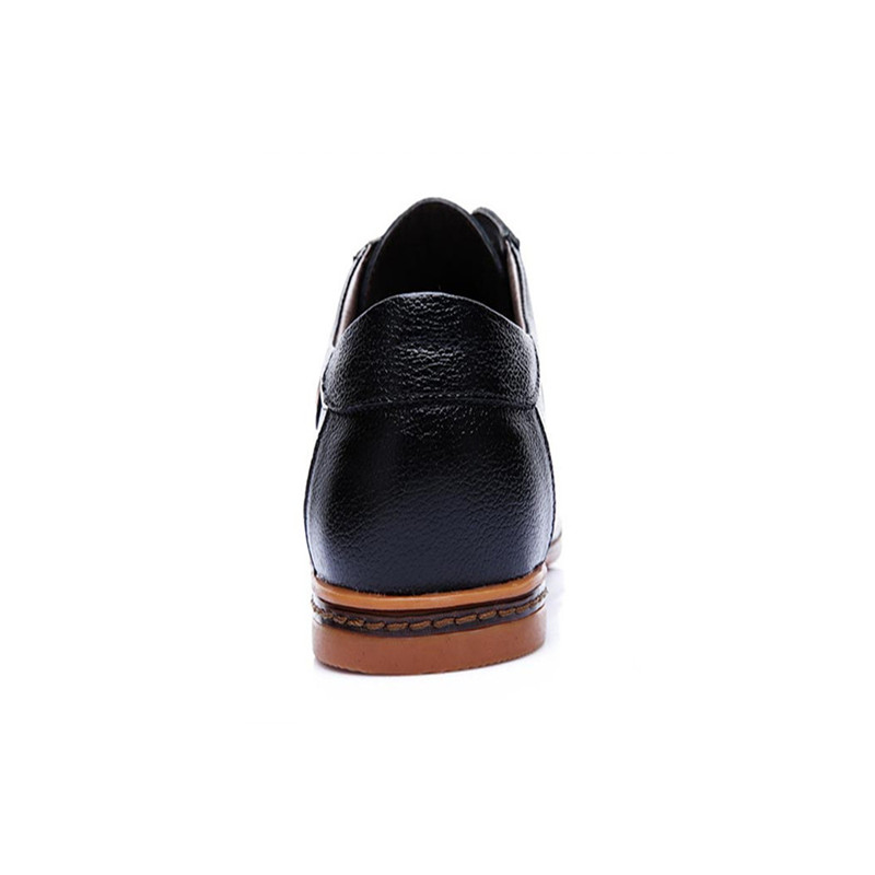 Mâle Taille Homme Black Hommes Chaussures Formelle En Robe Dentelle Nouvelle Souple Jusqu'à Richelieus De Split Arrivée Grande Vache brown Cuir Ccharmix 64TUHH