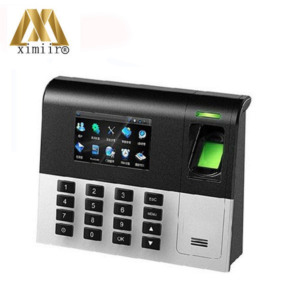 UA200 3inch Color Screen TCP/IP Fingerprint  Time Recorder Linux System Biometric Fingerprint Time Attendance Machine