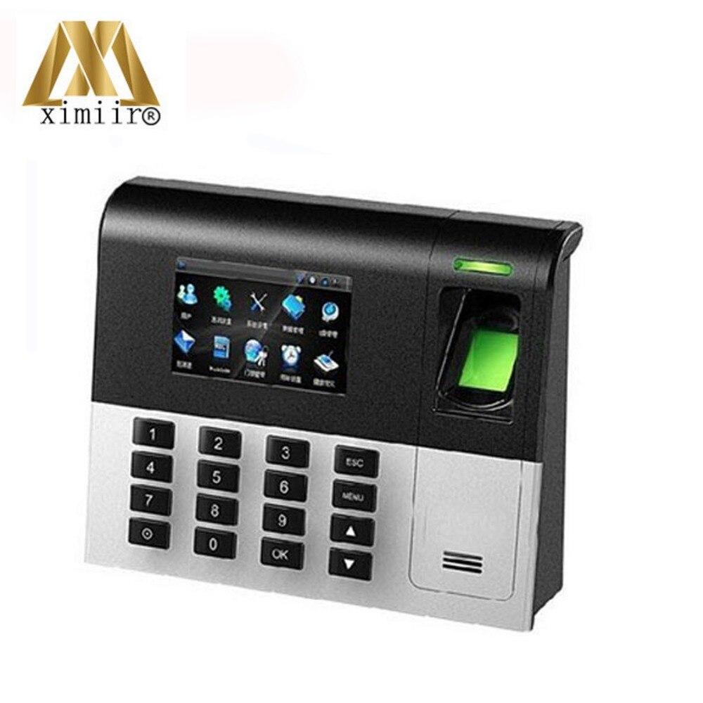 UA200 3inch Color Screen TCP/IP Fingerprint  Time Recorder Linux System Biometric Fingerprint Time Attendance Machine