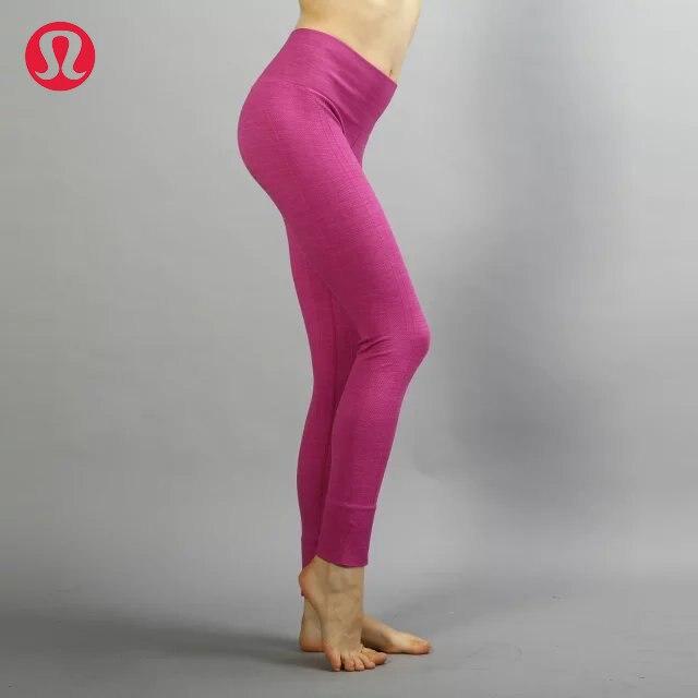 Prix pour Lulu LULULEMON transparente pur couleur de yoga pantalon pour les femmes 2 couleurs KZ004