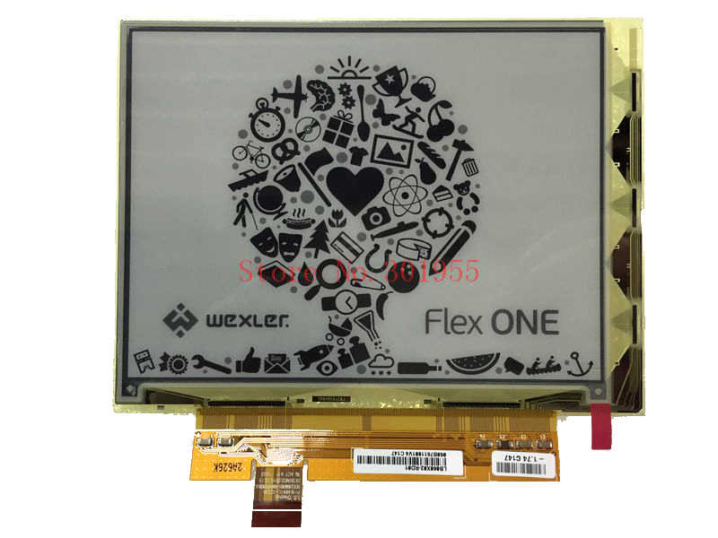 LB060X02-RD01 قارئ الكتب الإلكترونية E-الحبر شاشة الكريستال السائل ل يريفير قصة HD أو يكسلر المرن واحد يبوك