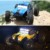 Nueva hbx 12891 1/12 4wd 2.4g impermeable amortiguador hidráulico desierto rc buggy camión con luz led rc car toys