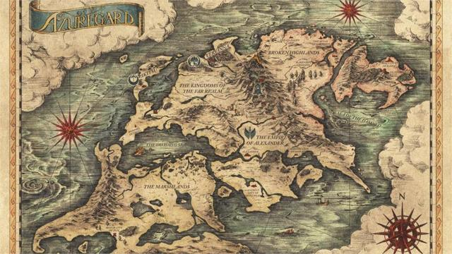 Fantasy Karte.Us 17 62 Projekt Phoenix Fantasy Anime Spiel Karte 4 Größen Silk Fabric Leinwand Plakat Druck In Projekt Phoenix Fantasy Anime Spiel Karte 4