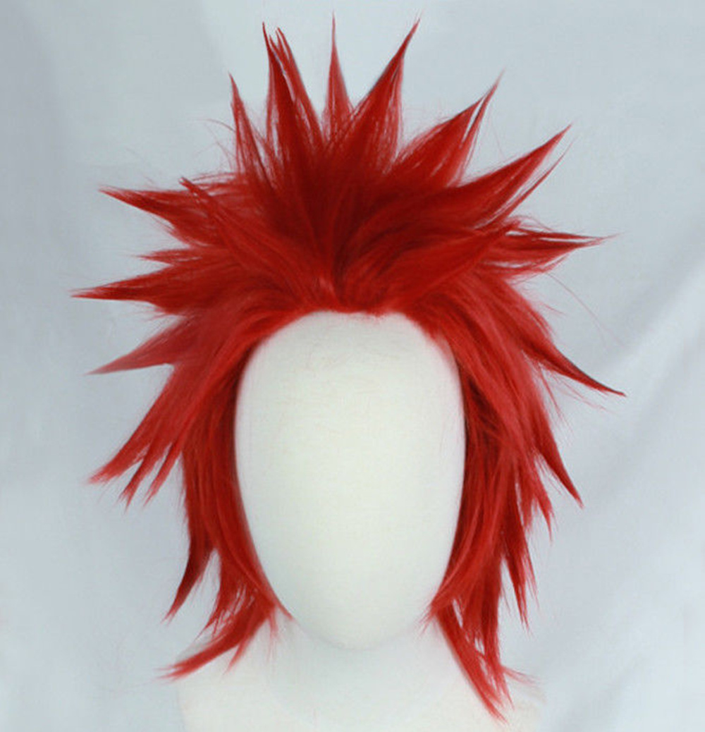Eijirou Kirishima Wig My Hero Boku no Hero Academia Eijiro Short Red Cosplay Hair Wig Anime Cosplay