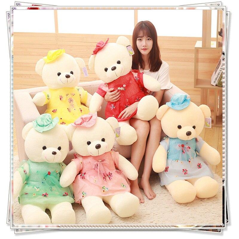 Teddy bear spongebob stitch plush kids toys stuffed animals soft toys for bouquets doll kawaii plush valentine day gifts
