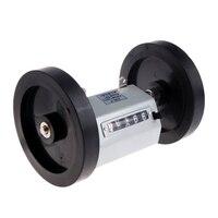 Z96 F Mechanische Länge Zähler Meter Zähler Rollenden Rad 1 9999 9 M-in Zähler aus Werkzeug bei