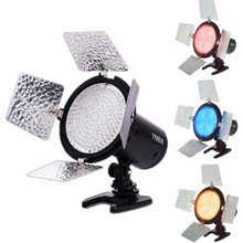 Yongnuo YN-168 YN168 Studio Photo LED Video Light for Canon Nikon DSLR Camera Camcorder Video Shooting 4 Colors Plate