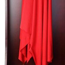 quality spandex elastic solid color fabric Latin dance Every light diy handmade costume skirt elastic fabric every color