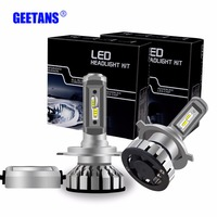 Mini H7 LED H4 2PCS 50W 12000Lm Car Headlights H11 H3 9005 HB3 9006 HB4 9012