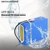 52V 20AH 1000W Scooter E-Bateria com Células 14S4P 21700 Samsung 50E 52V Li-ion Ebike baterias