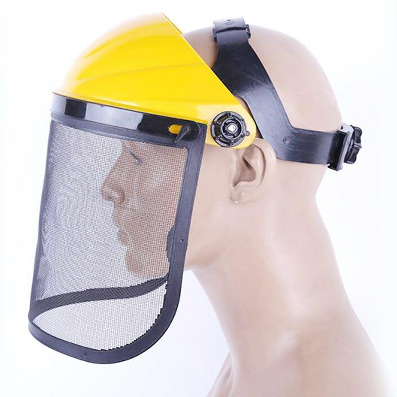 Arbeitsplatz Sicherheit Liefert Vereinigt Versicherung Net Kopf Mäher Maske Draht Mesh Schutz Maske Anti-splash Auswirkungen Gesichts Arbeitsplatz Sicherheit Dfy025 Neue Sorten Werden Nacheinander Vorgestellt