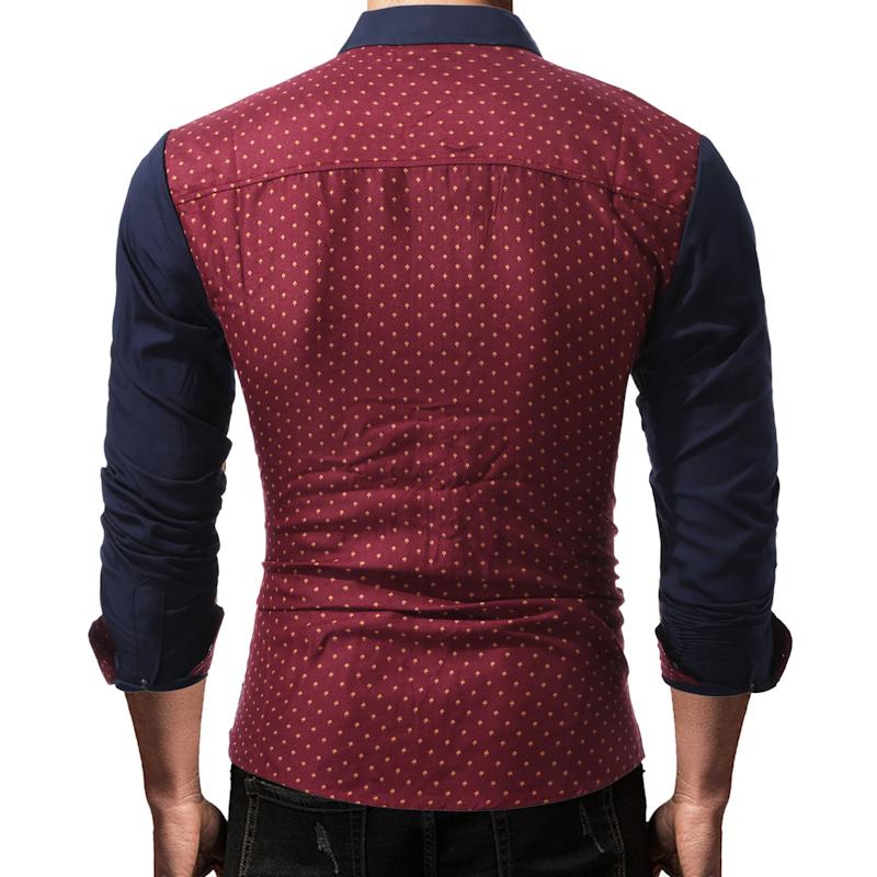 camisaria colombo, camisa vermelha com bolinhas