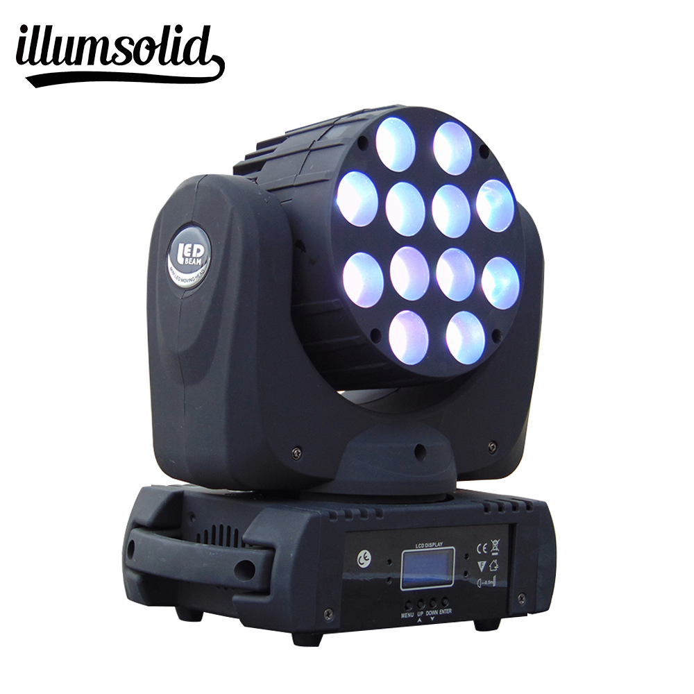 Moving Head LED Wash Beam Stage Lighting DMX 512 DJ For 7X12W 12X12W And 36X3W 6pcs lot white color 132w sharpy osram 2r beam moving head dj lighting dmx 512 stage light for party