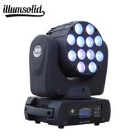 Moving Head LED Wash Beam Stage Lighting DMX 512 DJ For 7X12W 12X12W And 36X3W