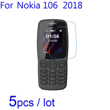 5pcs/lot Soft Screen Protectors for Nokia 106 2018 Version Clear/Matte
