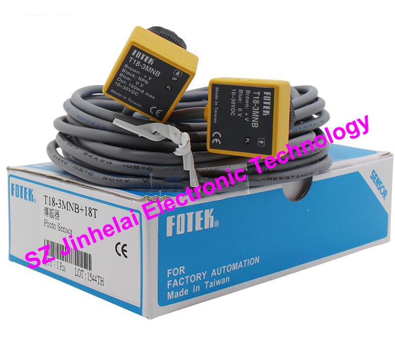 100% New and original FOTEK Photoelectric switch  T18-3MNB 100% new and original fotek photoelectric switch t18 3mnb