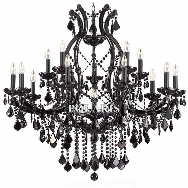 Мария Терезия Хрустальные люстры 16 огни Большой люкс большой подвесные светильники дома Лобби Свет освещения с K9 кристаллы