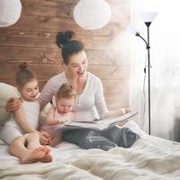 Mother in law Floor Lamp Living Room Study Multi function LED Eye Lamp E27 Lamp Holder Bulb