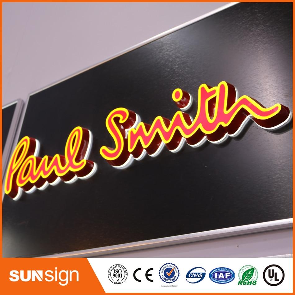 Alta Calidad Publicidad Muestra De La Tienda Letras Luminosas