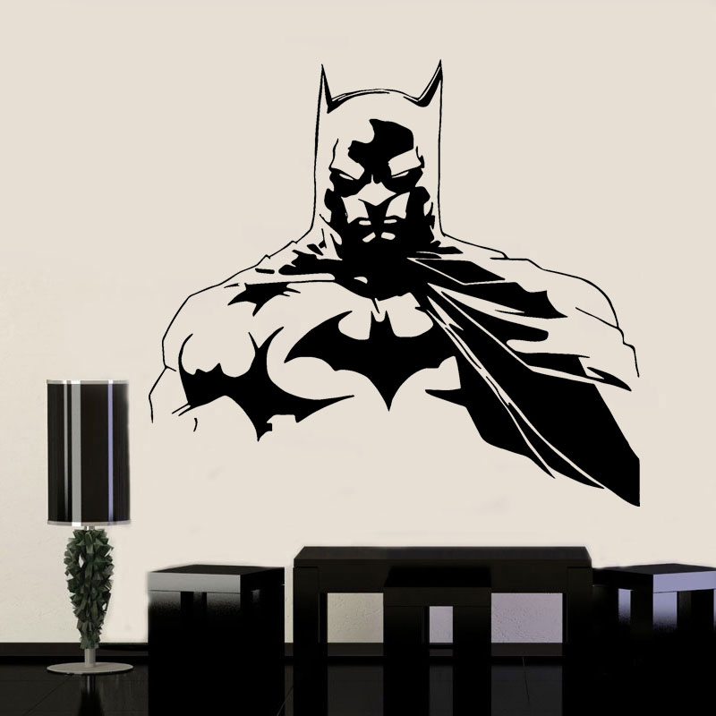 Justice League Batman Super Hero Wall Stickers Vinyl