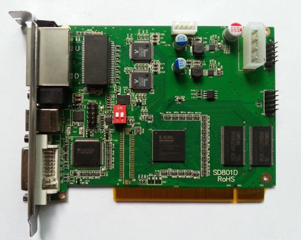 P10 SMD led video display controller card LINSN TS802 led sending card diy led display kit 1 pcs jn power supply dip outdoor rg color led display p10 1 pcs led control card 1 pcs controller