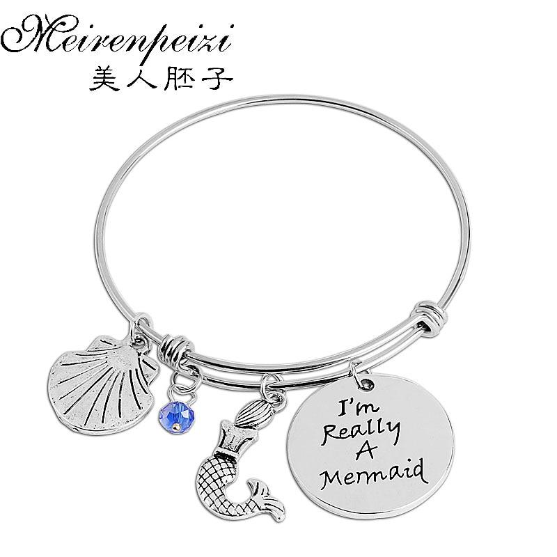 Aliexpress.com : Buy boho fish Bracelet Letter I'm Really
