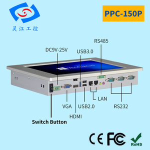 Процессор intel celeron j1900 15 дюймов четырехъядерный безвентиляторный промышленная панель для сенсорного экрана шт 4G памяти Настольный ПК