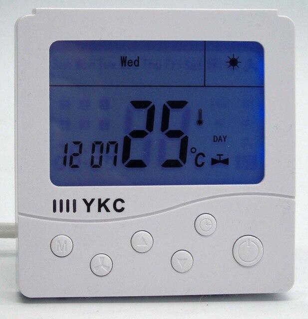 Russian English operation manual Digital LCD Display gas boiler ...