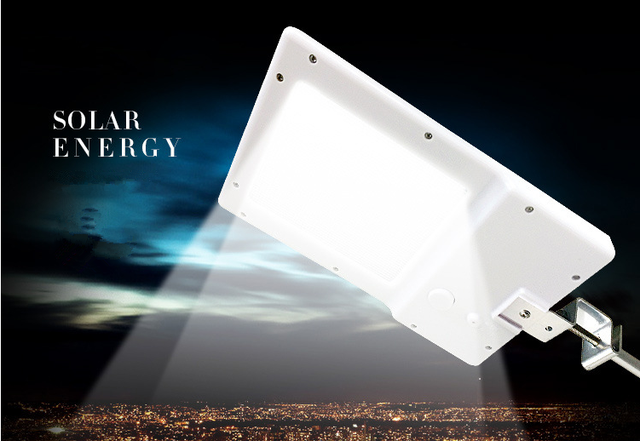 Nuovo 20 led solar power sensor led illuminazione stradale a led