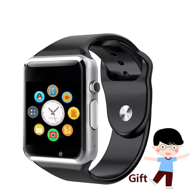 A1 Smart Watch Children Gift Smartwatch Sport Android Phone Camera SIM TF Card Call Reloj Smartwatch Russia T15 Better than DZ09
