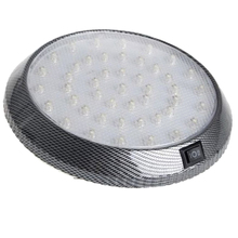 Auto Car Interior White 46 LED Roof Light Reading Lamp Round with ON/OFF switch Beautiful