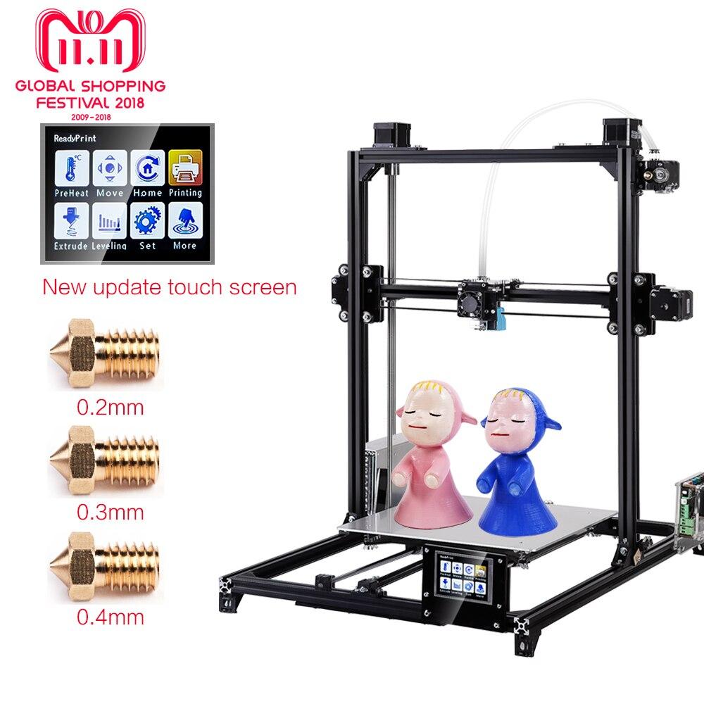 Goedkoop Metalen Bed.Kopen Goedkoop Flsun 3d Printer I3 Kit Volledige Metalen Plus Size