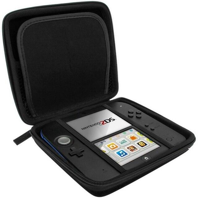 Venta caliente EVA Protector duro y cubierta dura para Nintendo 2DS 2DS Game Card Shell 4 colores envío libre