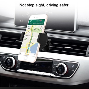 Image 2 - 696 チーワイヤレス充電器 iphone × 車のワイヤレス充電器パッドマウント高速サムスン S7 S8 注 8 iphone 8