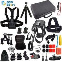 DSD TECH for Gopro dog cam Chest Strap Belt Mount Hook action camera accessories for Xiaomi Yi tripod GoPro Hero5 4 3 Sjcam 11C