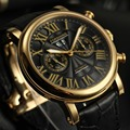 Fashion FORSINING Men Luxury Brand Leather Strap Roman Numbers Watch Automatic Mechanical Wristwatches Gift Box Relogio Releges