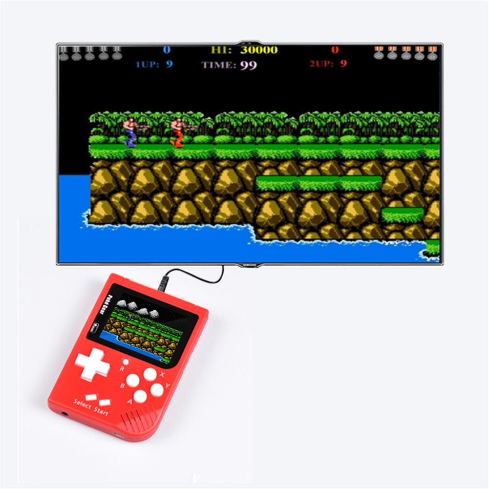 Retro Portable Mini Handheld Game Console 32 Bit 2.5 Inch Color LCD Kids Color Game Player
