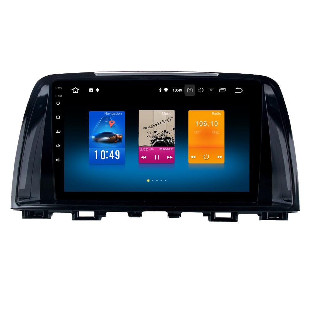 RoverOne For Mazda 6 Atenza 2013 2014 Android 8.0 Auto Car Radio Stereo GPS Navigation Navi Media Multimedia System PhoneLink