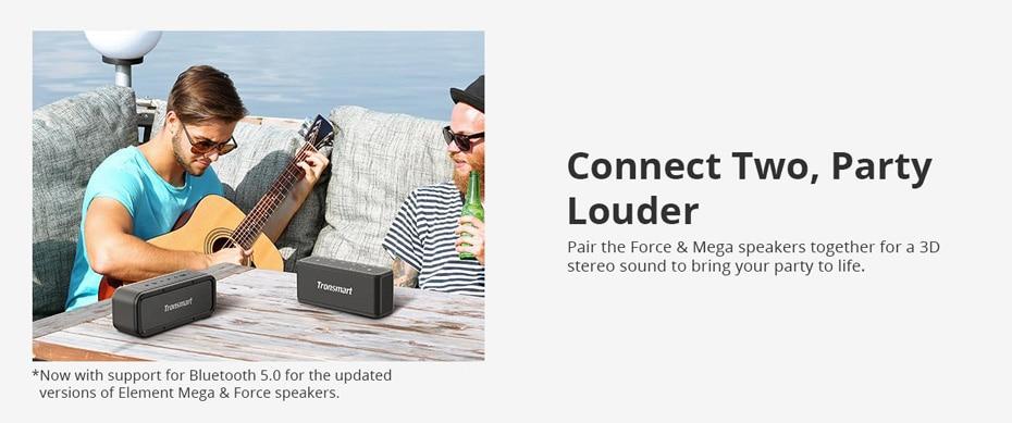 Tronsmart Force Bluetooth Speaker TWS Bluetooth 5.0 40W Portable Speaker IPX7 Waterproof (27)