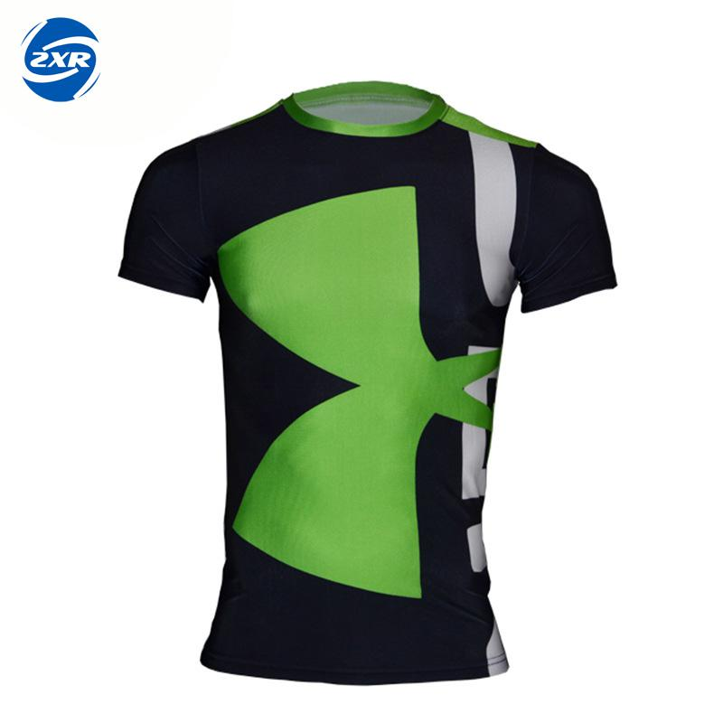 New Running T Shirt Men Quick Dry Breathable Short Sleeve Camping Climbing Fishing Outdoor Sports Hiking T-shirt Male ...