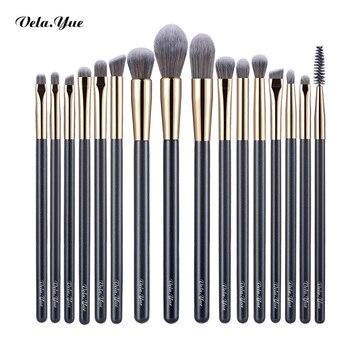 vela.yue Precise Makeup Brushes Set Detail Powder Foundation Blusher Bronzer eyeliner Shadow Brow Lip Gloss Beauty Tool 4/15/16 1