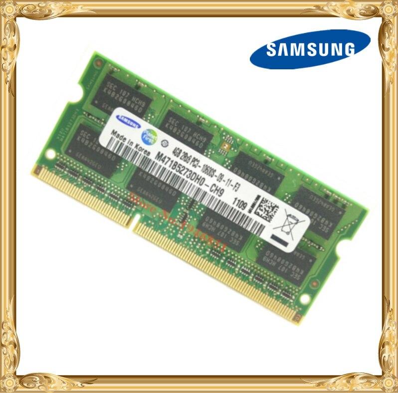 Samsung laptop-speicher DDR3 4 GB 1333 MHz PC3-10600S notebook RAM 10600 4G