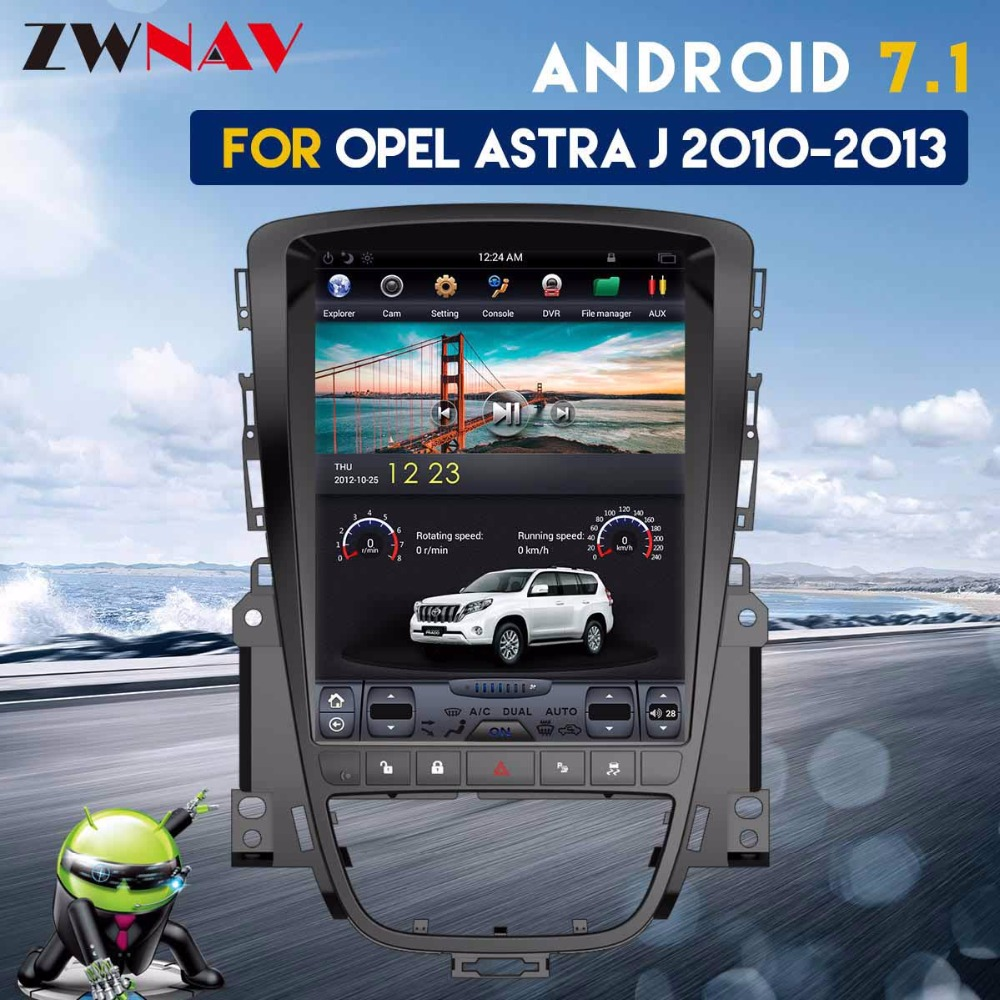 Tesla Style IPS Écran Android 7.1 Voiture GPS Auto Navigation Radio Headunit Pour Opel Insignia Vauxhall Holden Astra J CD300 CD400