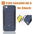 Original xiaomi anti-batida caso protetor sabic matte capa de couro do caso da aleta para xiaomi mi5 mi 5 m5 pro 5.15 polegadas
