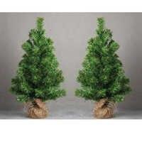 Mini Christmas Tree Holiday Party Birthday Table Desk Artificial Decor 30cm High Pine Tree Xmas Ornaments Kids Festival Gift