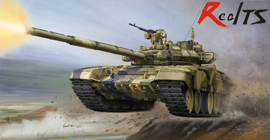 RealTS Trumpeter model 05560 1/35 Russian T-90 MBT Cast Turret plastic model kit realts trumpeter 1 32 03223 russian mig 29a fuicrum model kit